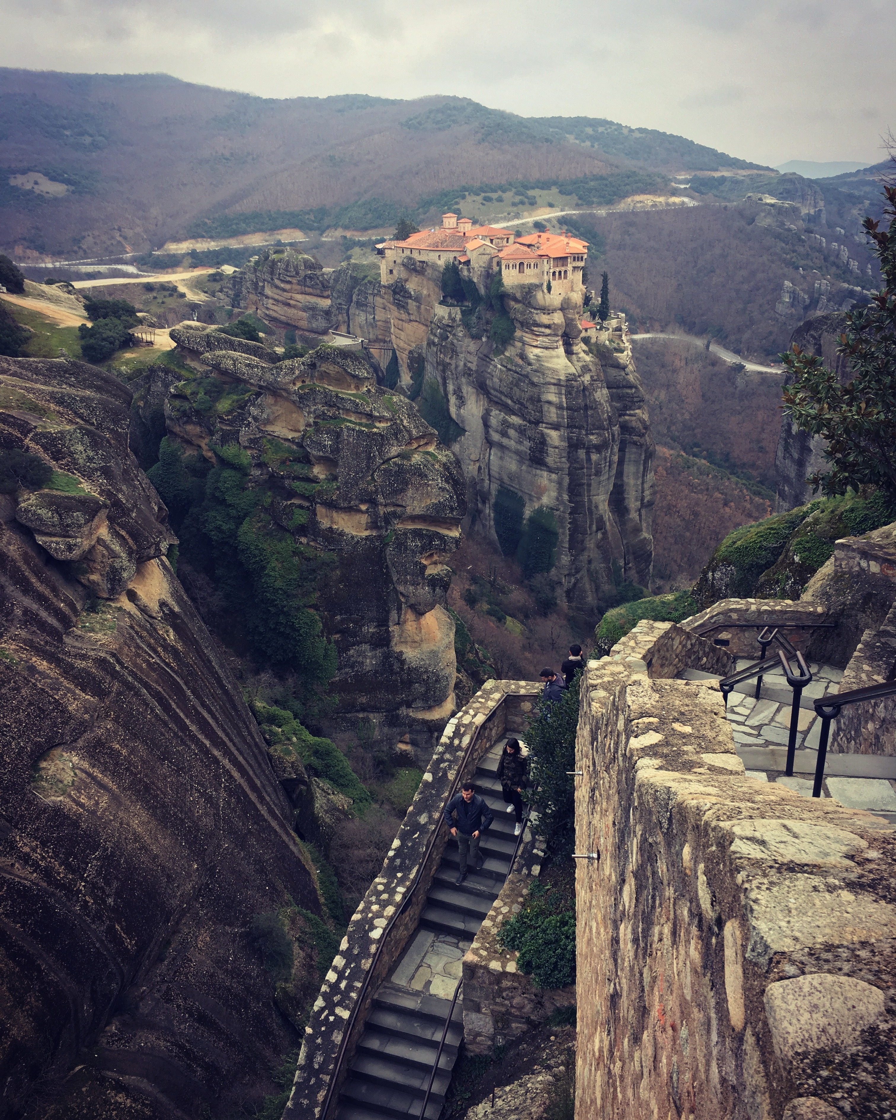 grand monastery of meteora welcome experience