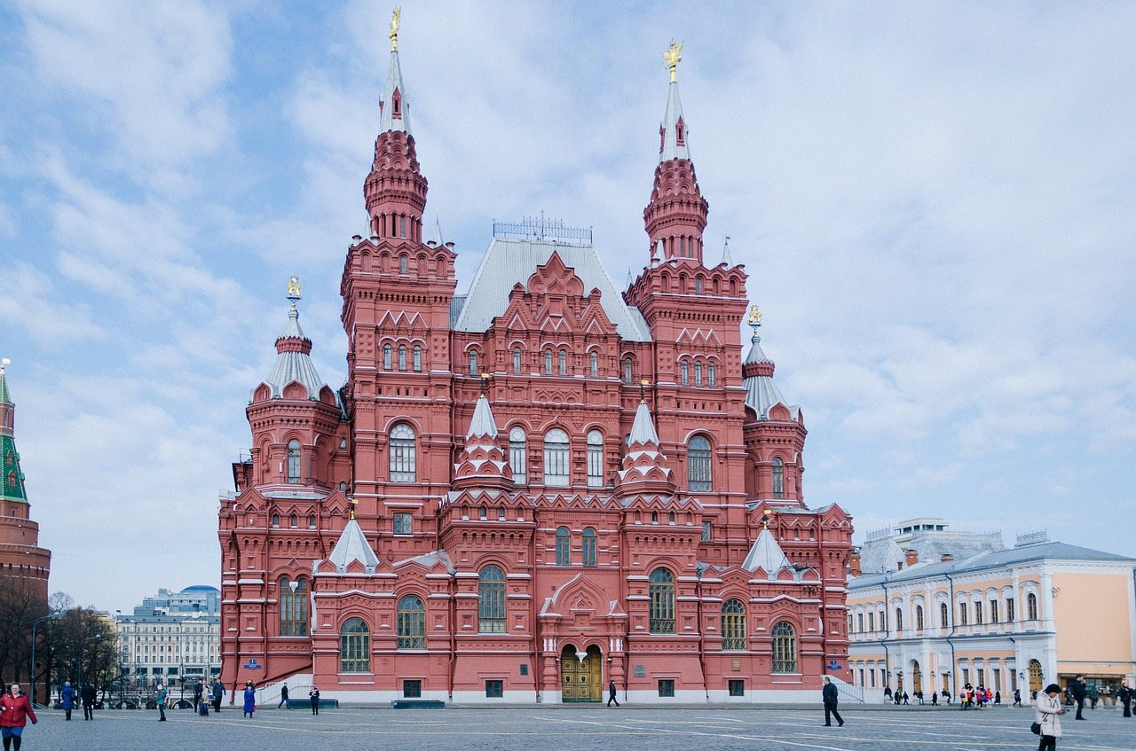 red square photos moscow