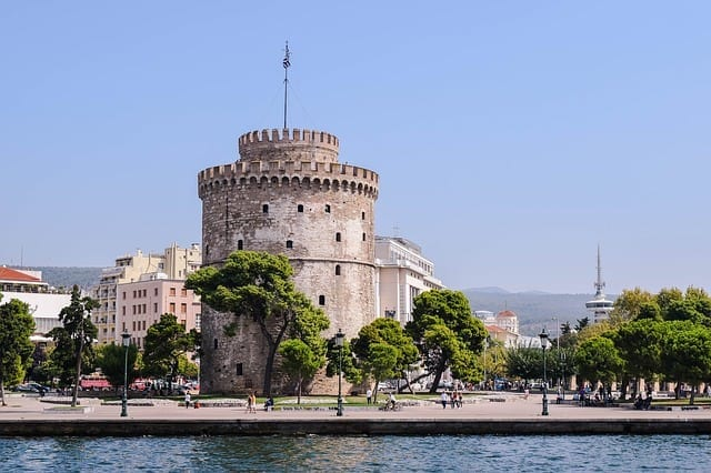 Thessaloniki city centre, white tower