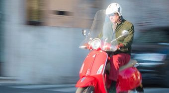 Rome Transport Vespa