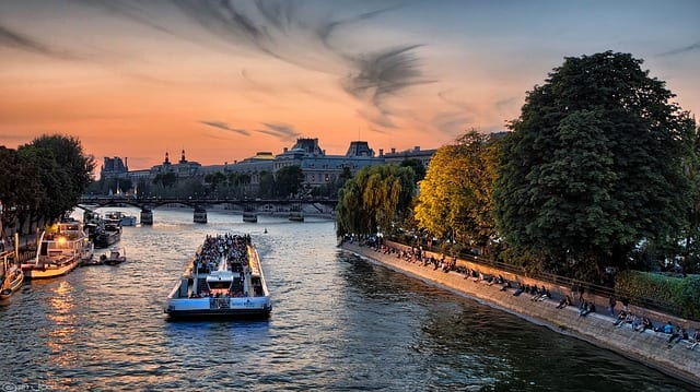 Cruise on the River Seine