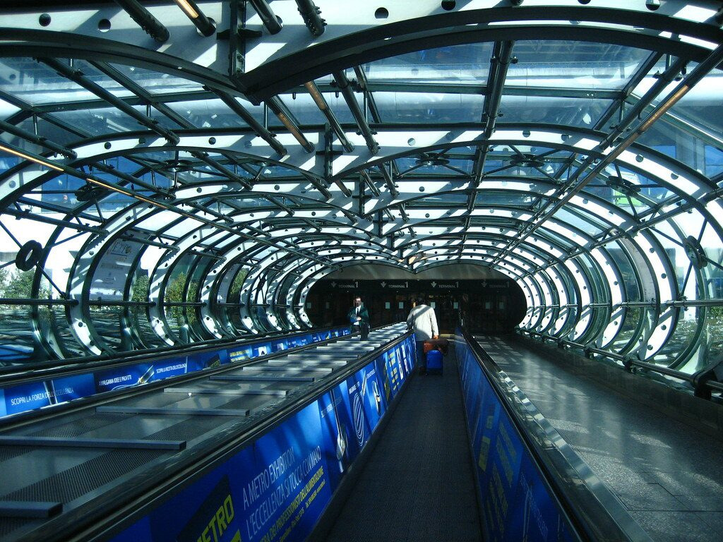 Malpensa Airport tunnel
