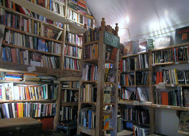atlas bookstore santorini